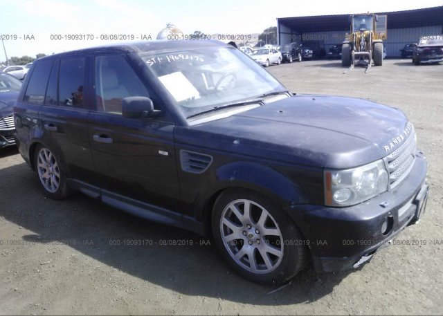 Inventory #624544108 2009 Land Rover RANGE ROVER SPORT
