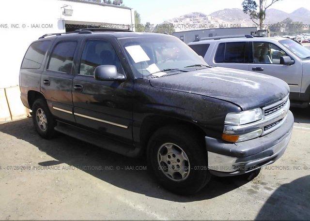 Inventory #394708975 2005 Chevrolet TAHOE