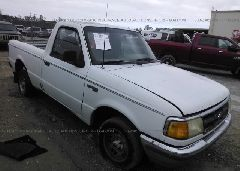 1994 FORD RANGER - 1FTCR10X8RUA16619 Left View