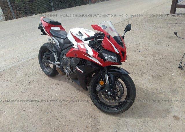 Inventory #349232462 2009 Honda CBR600