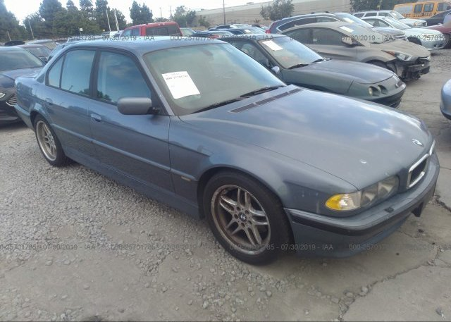 Inventory #617723748 2001 BMW 740