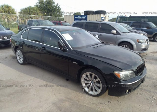 Inventory #791457129 2007 BMW 750