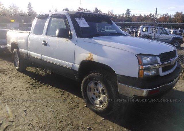 Inventory #762912757 2003 Chevrolet SILVERADO