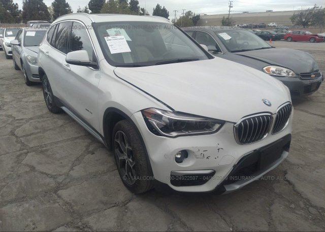 Wbxht3z35h4a57782 Salvage Certificate White Bmw X1 At Fremont Ca