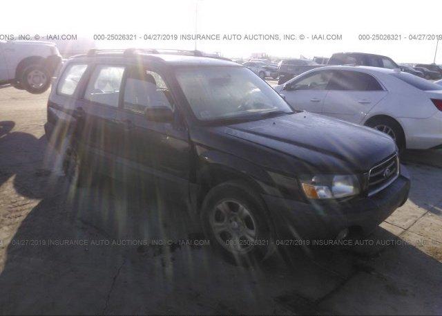 Inventory #713008221 2005 Subaru FORESTER