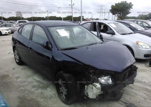 Inventory #573551516 2010 Hyundai ELANTRA