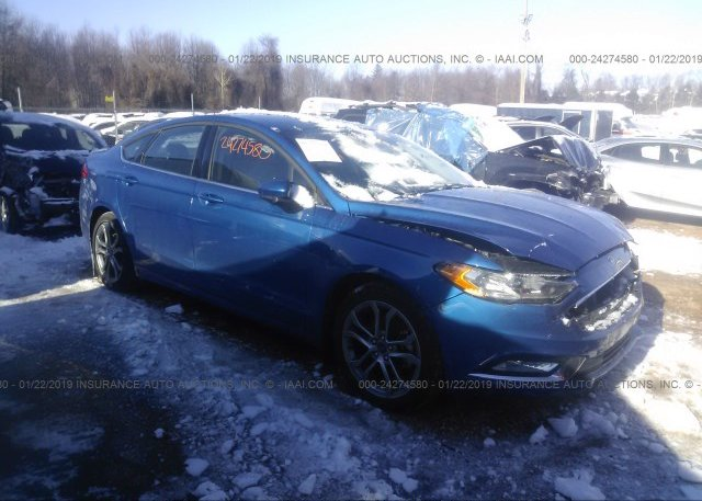 Inventory #650737503 2017 FORD FUSION