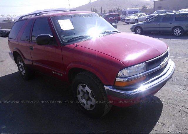 Inventory #470056613 2001 Chevrolet BLAZER