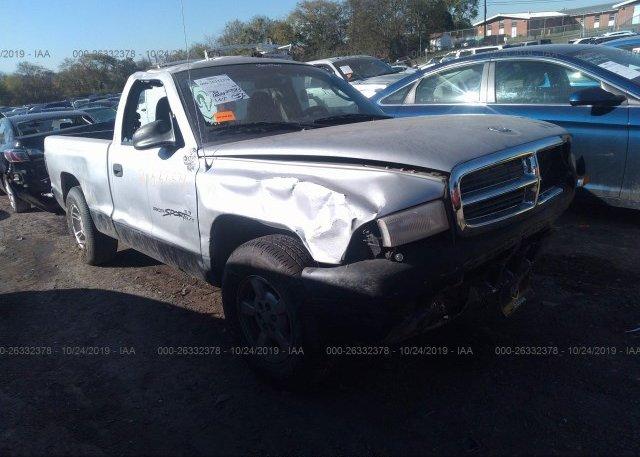 Inventory #770257960 2001 Dodge DAKOTA