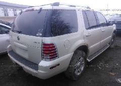 2005 Mercury MOUNTAINEER - 4M2DU86W75ZJ15241 rear view