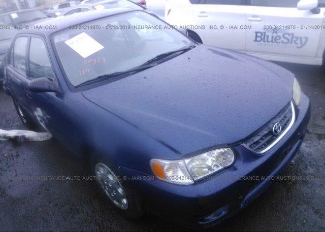 Inventory #355565710 2002 Toyota COROLLA