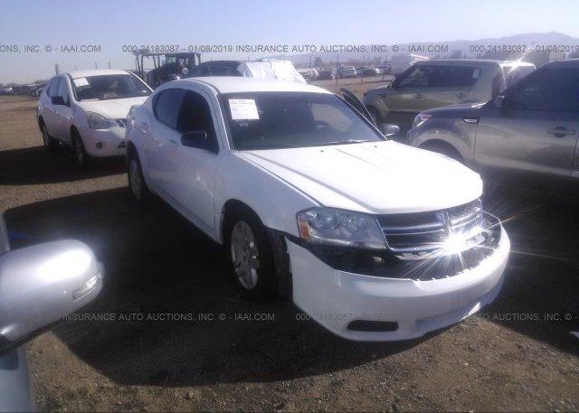 Inventory #504547259 2014 Dodge AVENGER