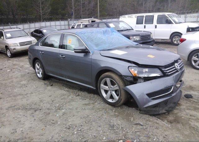 Inventory #805393308 2014 Volkswagen PASSAT