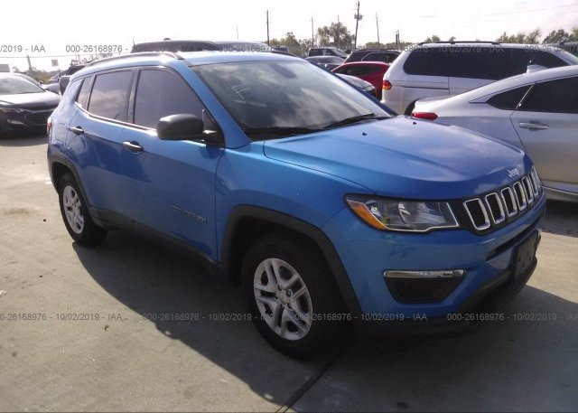 Inventory #296537969 2018 JEEP COMPASS