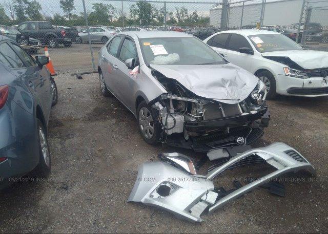 Inventory #147320860 2016 Toyota COROLLA