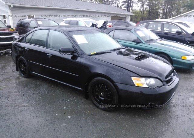 Inventory #438467101 2005 Subaru LEGACY