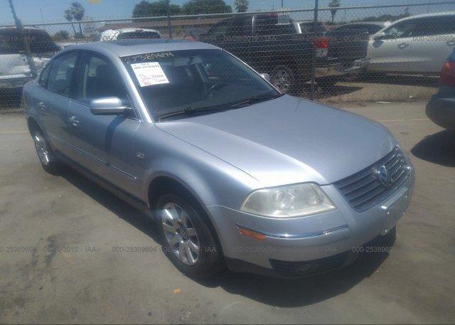 Inventory #273136831 2003 Volkswagen PASSAT