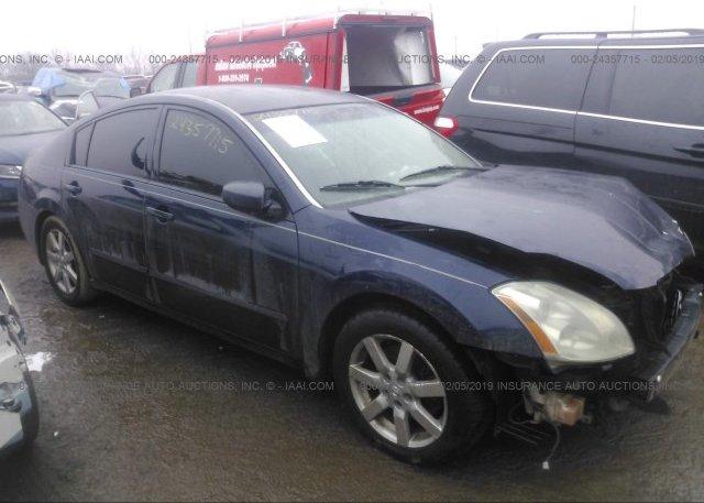 Inventory #864438398 2004 Nissan MAXIMA