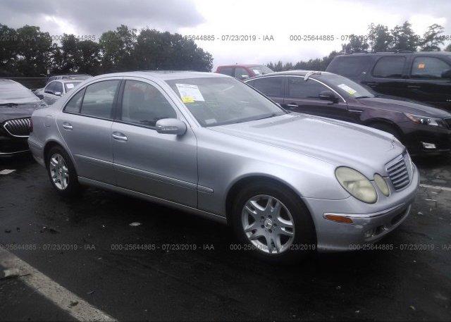 Inventory #430014591 2003 Mercedes-benz E