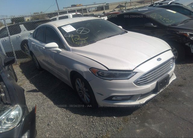 Inventory #314087323 2017 FORD FUSION