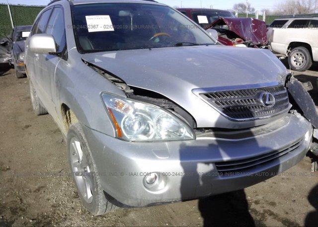 Inventory #932119447 2007 Lexus RX