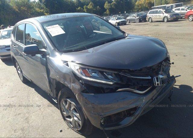 Inventory #628651917 2015 Honda CR-V