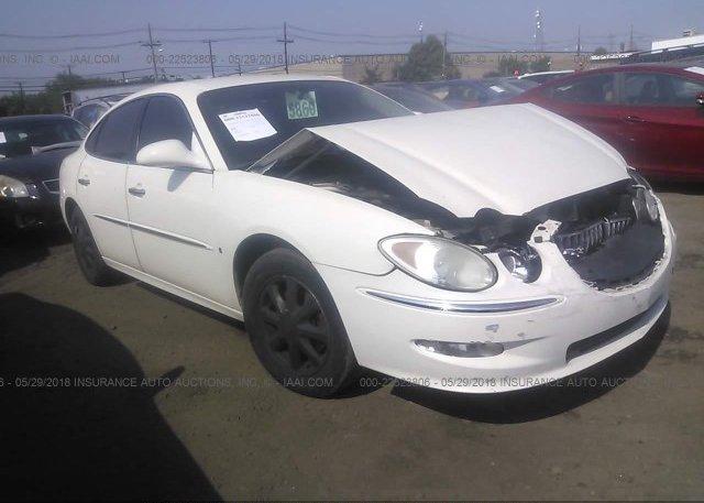 Inventory #650112210 2008 Buick LACROSSE