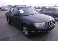 2008 Subaru FORESTER - JF1SG63608H725754 Left View