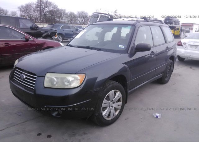2008 Subaru FORESTER - JF1SG63608H725754