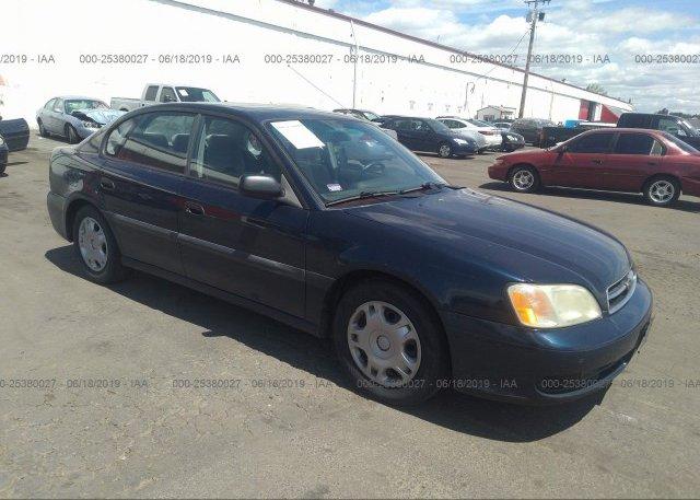 Inventory #388878857 2002 Subaru LEGACY