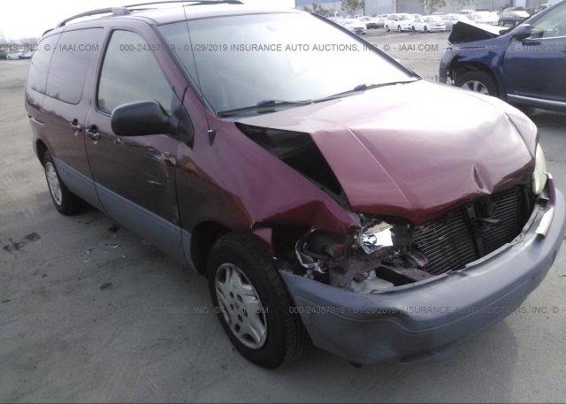 Inventory #260505910 2003 Toyota SIENNA