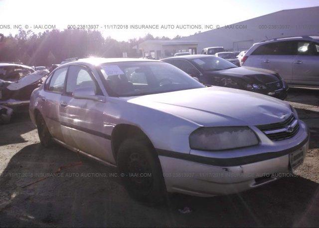 Inventory #745319536 2004 Chevrolet IMPALA