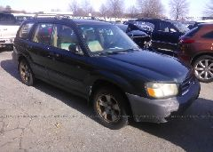 2003 Subaru FORESTER - JF1SG63663H702858 Left View