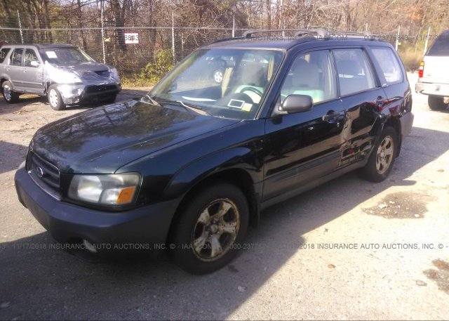 2003 Subaru FORESTER - JF1SG63663H702858