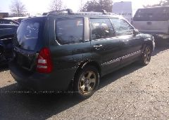 2003 Subaru FORESTER - JF1SG63663H702858 rear view