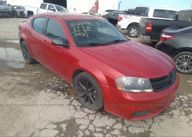 Inventory #375565321 2014 Dodge AVENGER