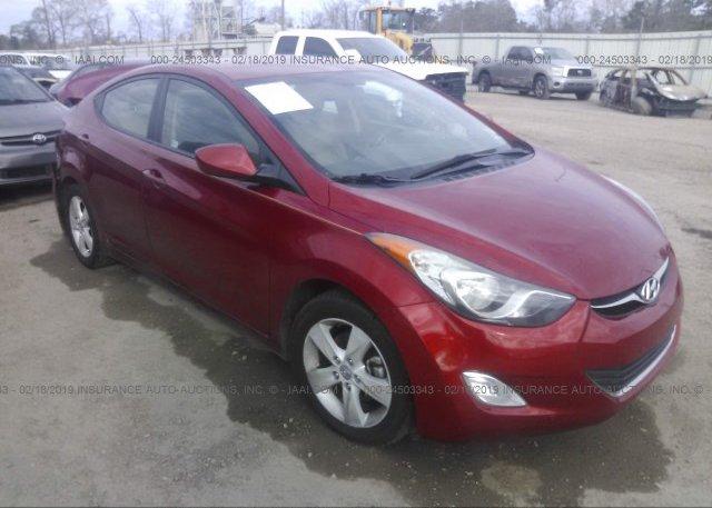 Inventory #127201520 2013 Hyundai ELANTRA