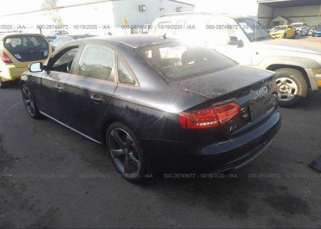 купить 2012 AUDI A4 WAUKFAFL2CN016056