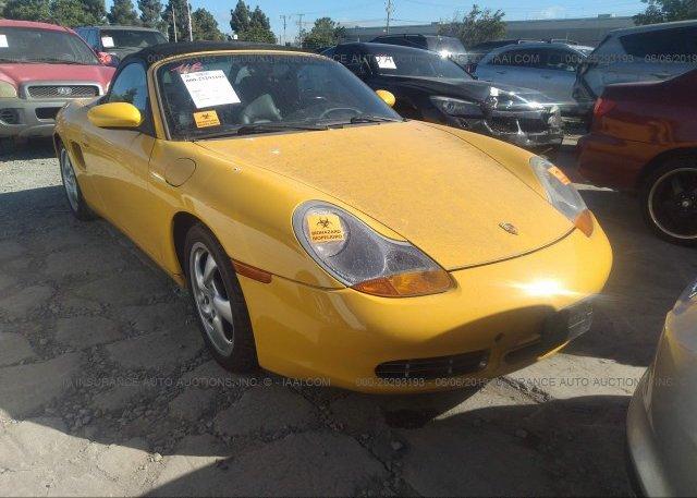 Inventory #510034317 2001 Porsche BOXSTER