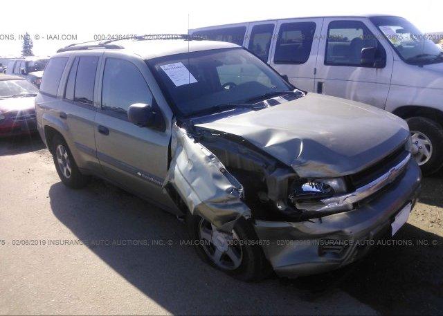 Inventory #794180395 2004 Chevrolet TRAILBLAZER