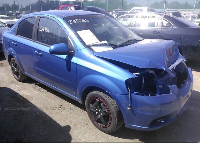 Kl1td66e99b665477 Parts Only Bos Blue Chevrolet Aveo At Faribault
