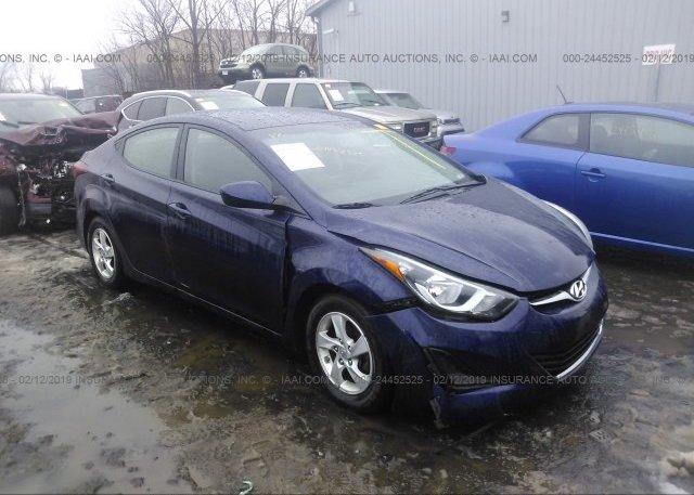 Inventory #127749470 2014 Hyundai ELANTRA