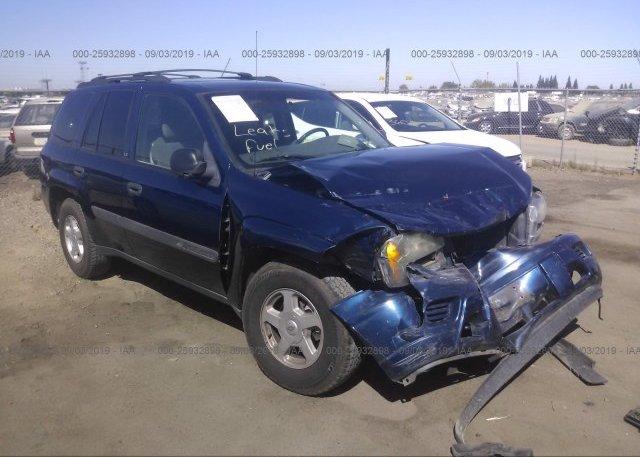 Inventory #947523668 2003 Chevrolet TRAILBLAZER