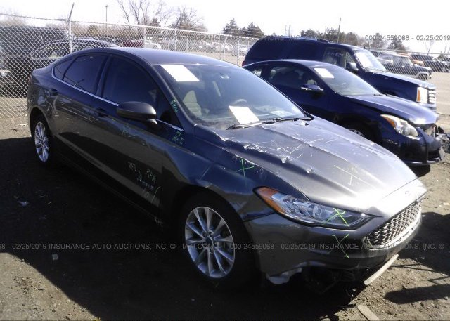 Inventory #949368993 2017 FORD FUSION