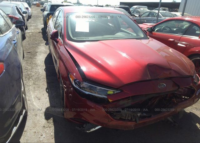 Inventory #517802469 2017 FORD FUSION