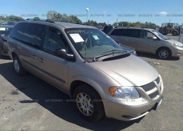Inventory #769266454 2002 Dodge Grand Caravan