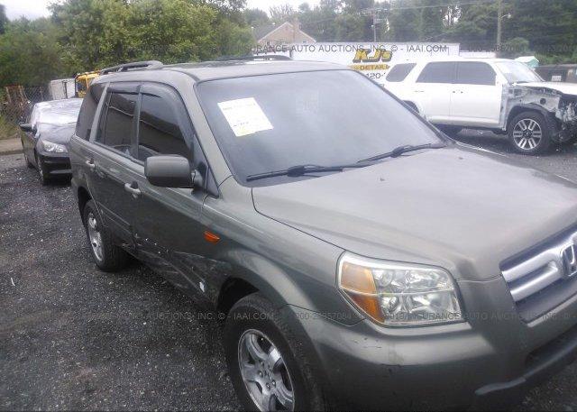 Inventory #625908306 2007 Honda PILOT