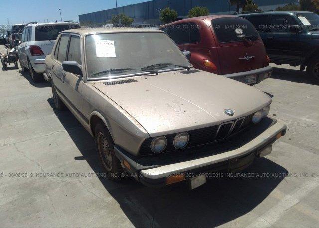 Inventory #813503599 1988 BMW 528