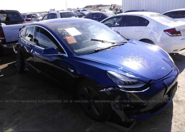 Inventory #867640680 2018 Tesla MODEL 3