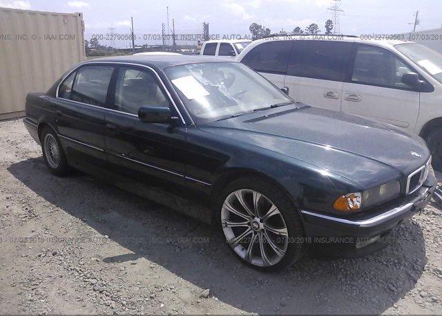 Inventory #864762004 1998 BMW 740